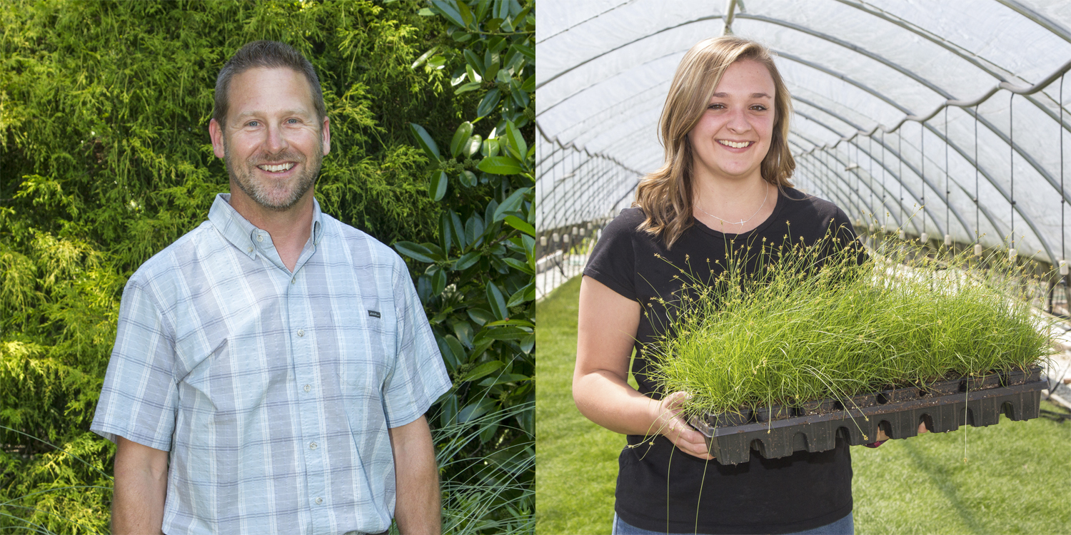 Darren Barshaw and Annie Saunders join the Hoffman Nursery sales team.