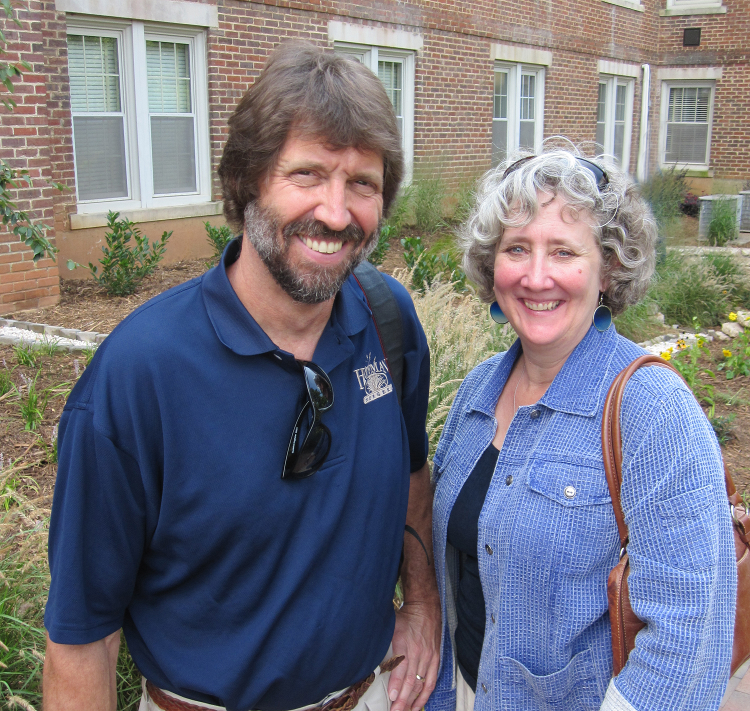Hoffman Nursery founders and owners, John and Jill Hoffman.
