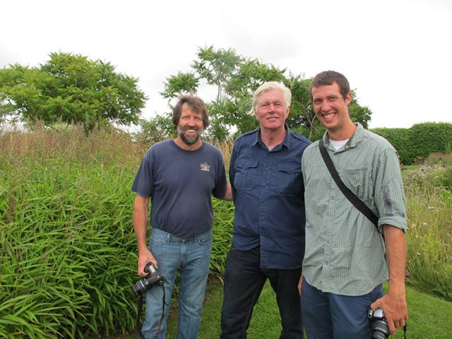 Piet Oudolf with John and David Hoffman