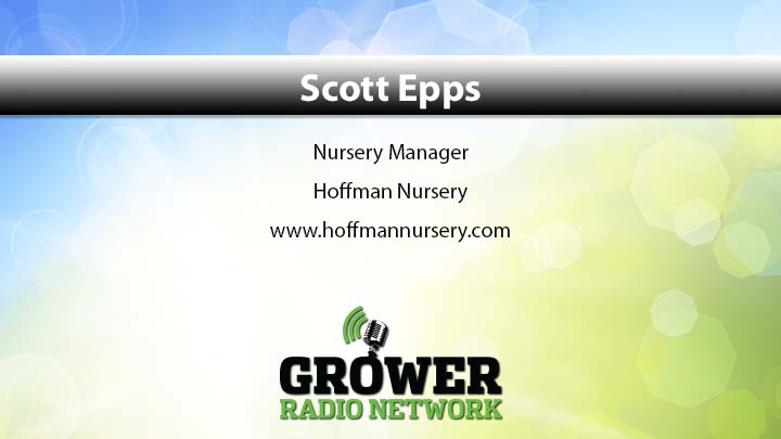 Link to Podcast by Scott Epps, Nursery Manager