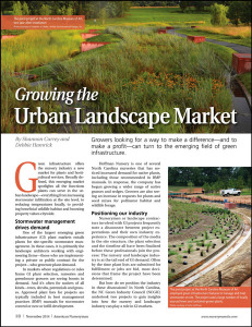 Article in American Nurseryman