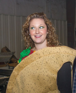 Magan as taco