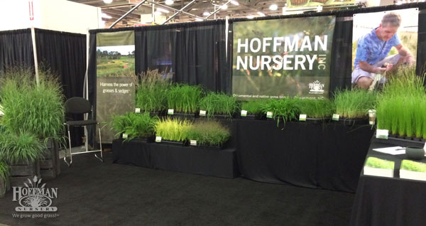This was our first year to have a double booth at Cultivate. It was wonderful to have the room to display great grasses and mingle with visitors.