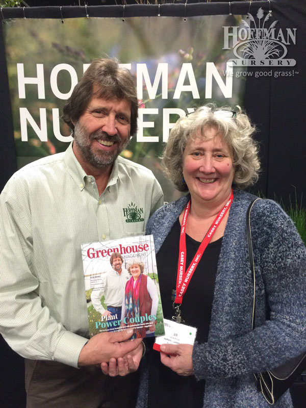 John & Jill Hoffman on the cover
